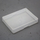 Plastic Playing Card Box Poker Size Clear