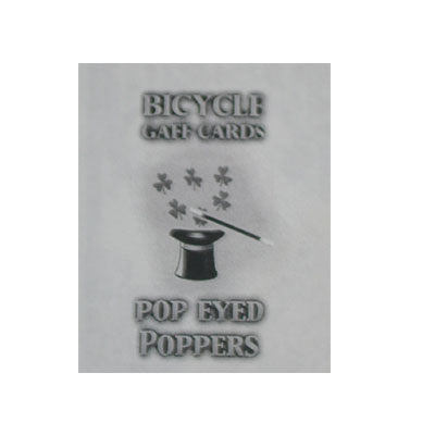Pop Eyed Popper Deck Bicycle Red or Blue