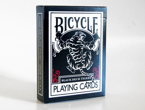 Black Tiger Deck Red Pips by Ellusionist