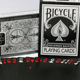 Reversed Back Bicycle Deck - Black By Magic Makers