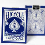 Reversed Back Bicycle Deck - Blue By Magic Makers