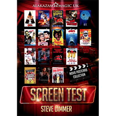 Original Screen Test (DVD and Gimmicks) by Steve Dimmer