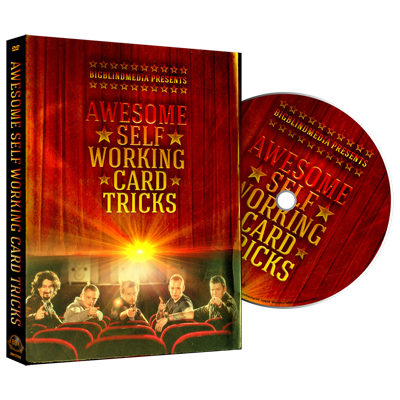 Awesome Self Working Card Tricks DVD by Big Blind Media