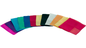 "Silks For Magic 12"" (Assorted Colours)"