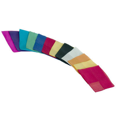 "Silks 9"" (Assorted Colours)"