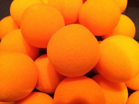 Sponge Balls - 4.5cm Loose Orange