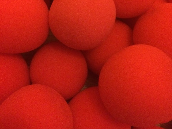 Sponge Balls - 4.5cm Loose Red