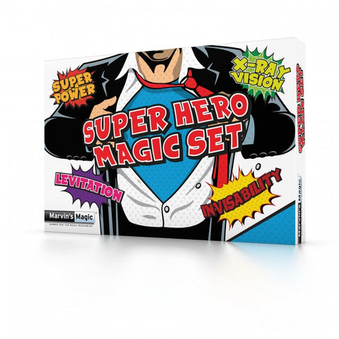 Super Hero Magic Set By Marvin's Magic