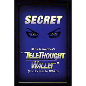 Telethought Wallet (Original) by Chris Kenworthey