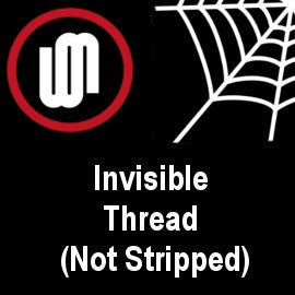 Invisible Thread Not Stripped From Warped Magic