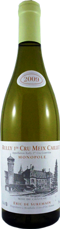 "2015 Rully Blanc 1er cru ""Pillot"", Eric de Suremain"