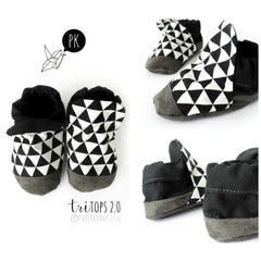 Geometric Triangle high tops