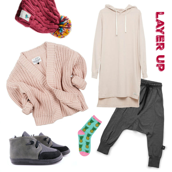 PINK LAYERED OUTFIT