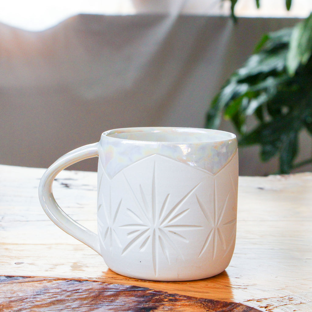 Pearl [Not Matte] Deco Mug 14oz
