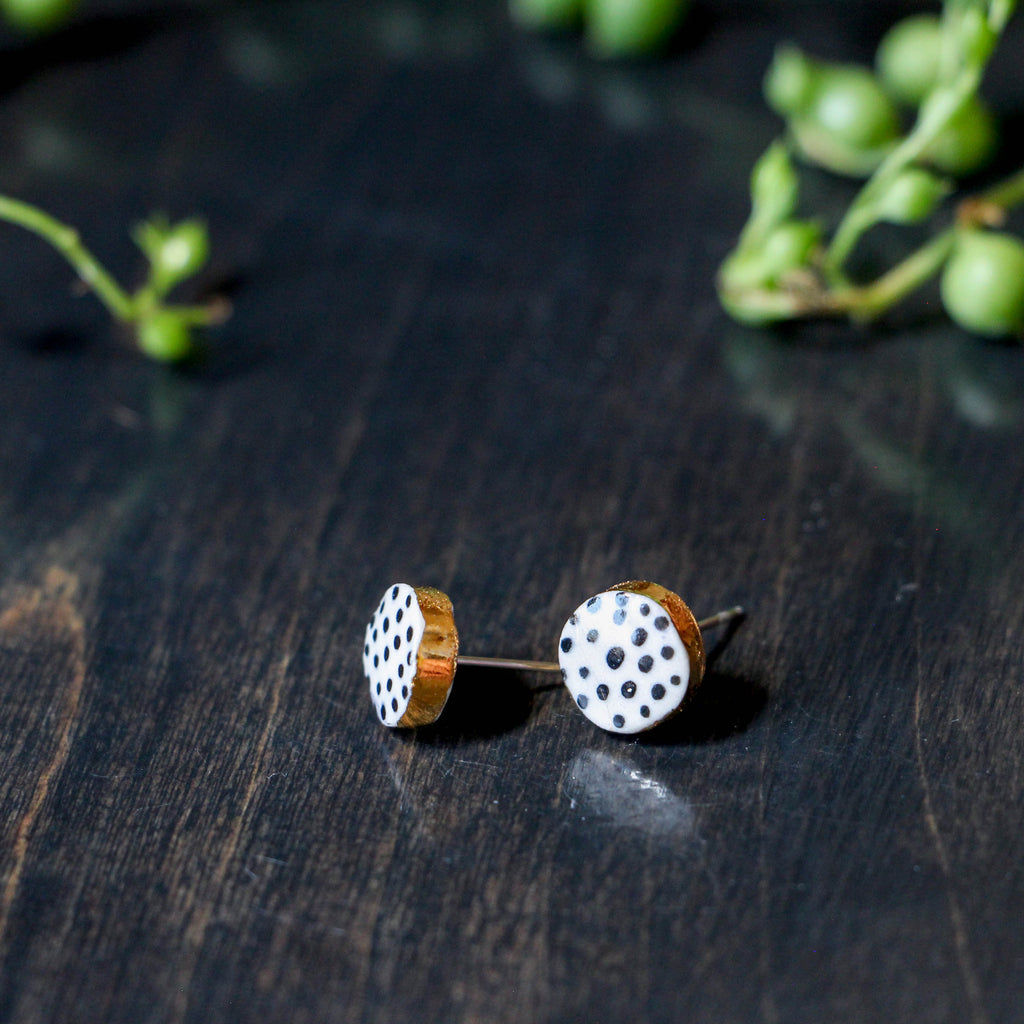 Double Stud Earring Set (Clementine & Dot)