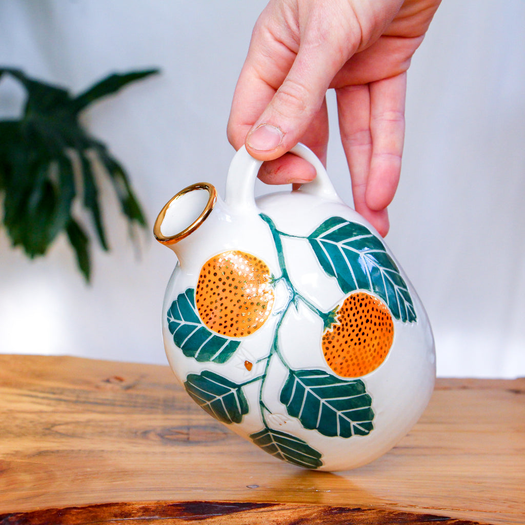 Clementine Painted Jug