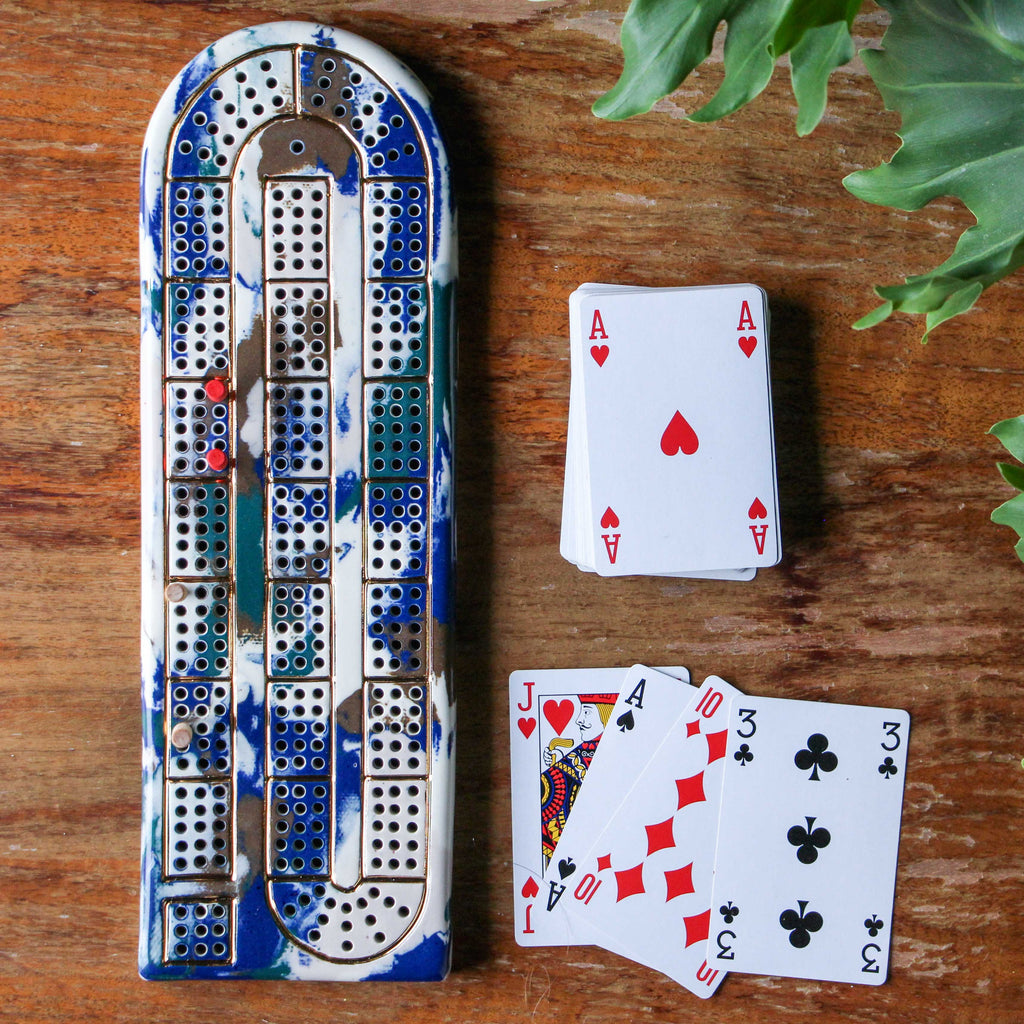 Forest Cribbage Board