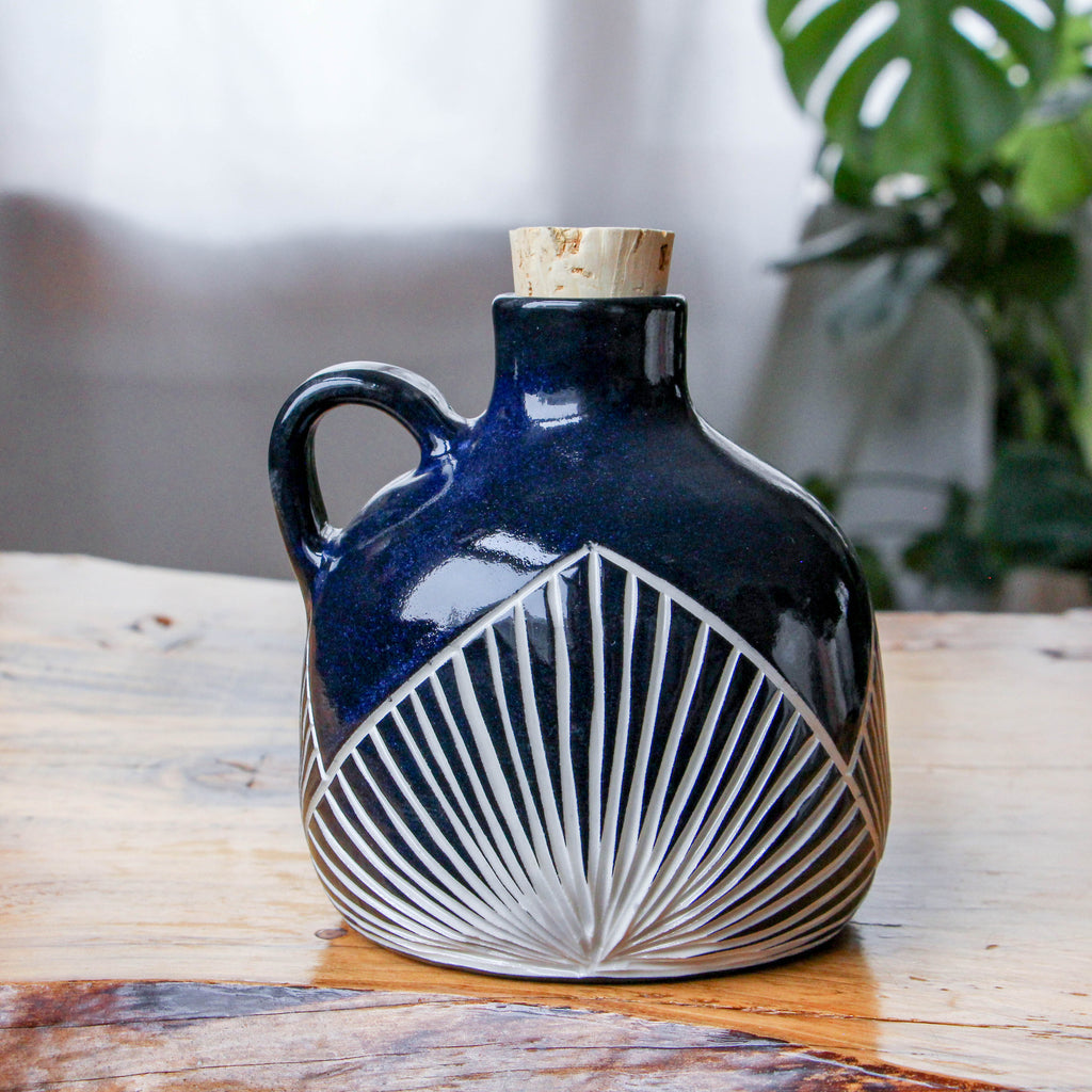 Onyx Triangle Pyramid Jug