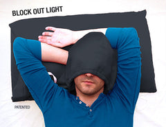 HoodiePillow® - Hooded Pillowcase - HoodiePillow® Brand Pillowcase and Hooded Travel Pillow  - 7