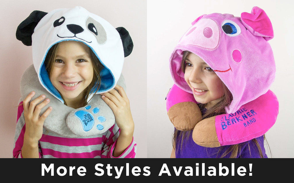 HoodiePillow® Pals - Kids Travel Pillows