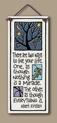 Two Ways to Live Plaque