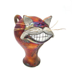 Raku Happy Cat