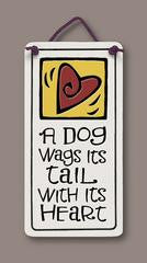 Dog Small Plaque- Sold Out