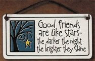 Friends Like Stars Small Plaque sold out