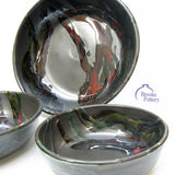 Black Galaxy Serving Bowls