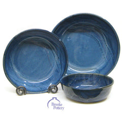 Cascadia Blue Serving Bowls