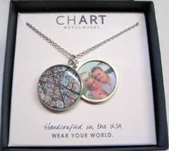 Lakeland Map Locket