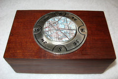 Lakeland Map Keepsake Box
