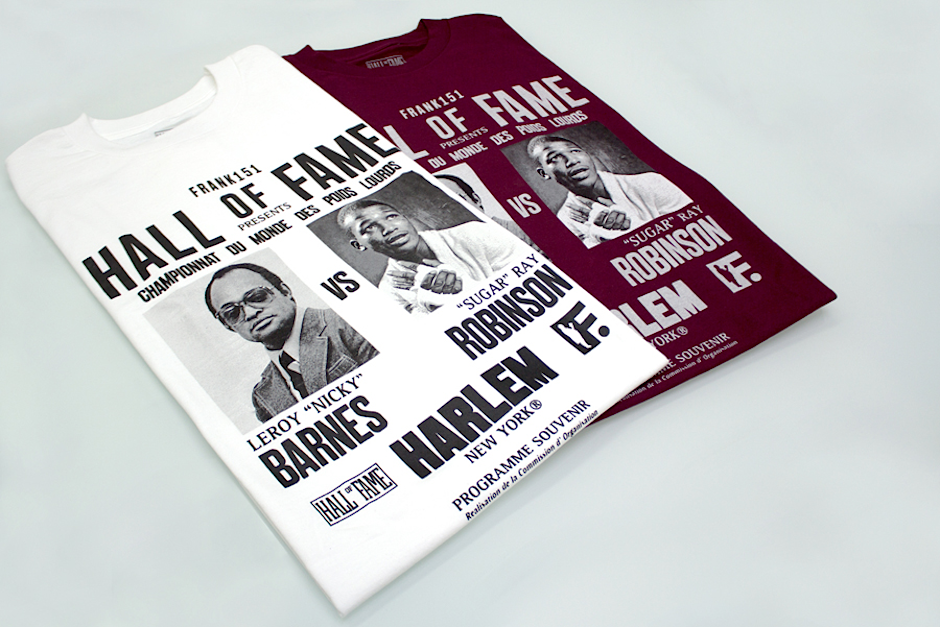 FRANK x Hall Of Fame Capsule Collection Tees