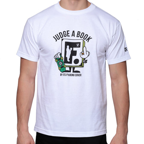 Mighty Healthy - Judge a book - FU shirt
