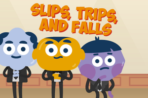 ONLINE COURSE - Slips, Trips and Falls