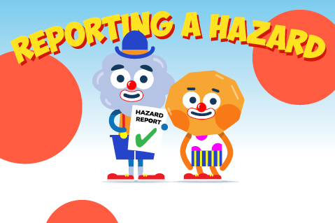 ONLINE COURSE - Reporting a Hazard