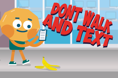 ONLINE COURSE - Don't Walk and Text