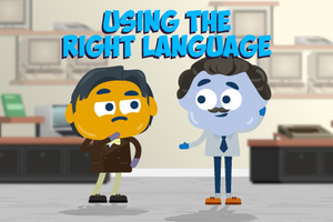ONLINE COURSE - Using the Right Language