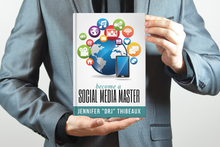 Load image into Gallery viewer, Become a Social Media Master - Paperback Book
