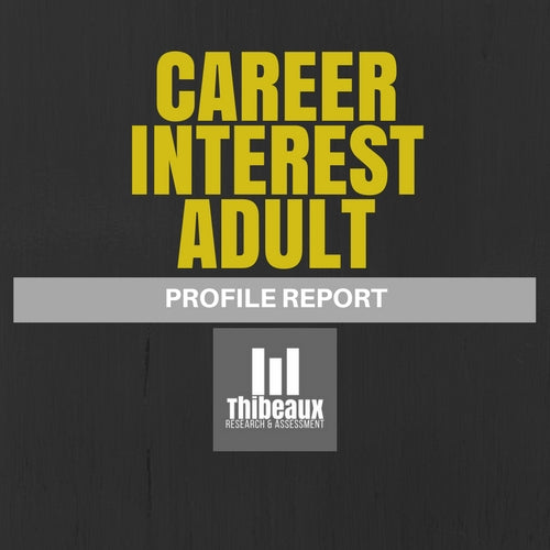 Career Interest Profile (Strong) - Adult Edition