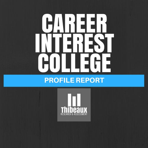 Career Interest Profile (Strong) - College Edition