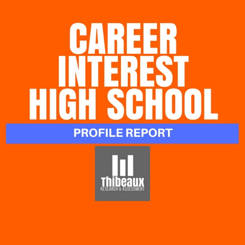 Career Interest Profile (STRONG®) - High School Edition