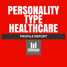 Load image into Gallery viewer, Personality Type (MBTI®) Profile - Healthcare Edition