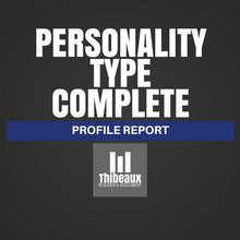 Load image into Gallery viewer, Personality Type Complete (MBTI®) Profile