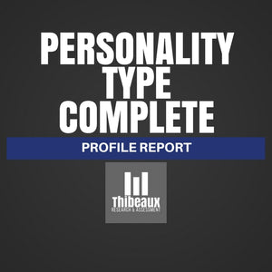Personality Type Complete (MBTI®) Profile