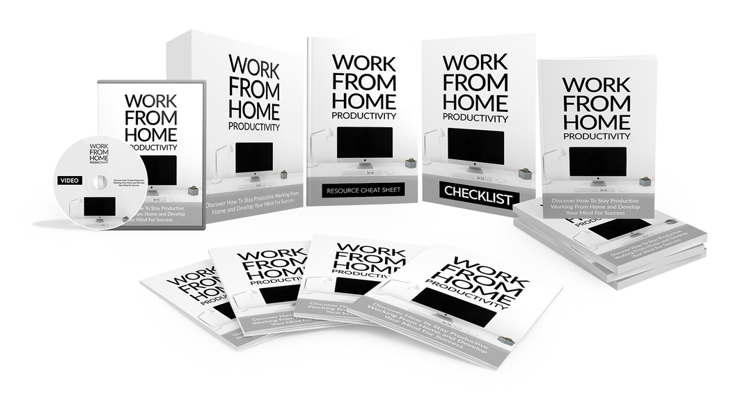 Work From Home Productivity BUNDLE eBook