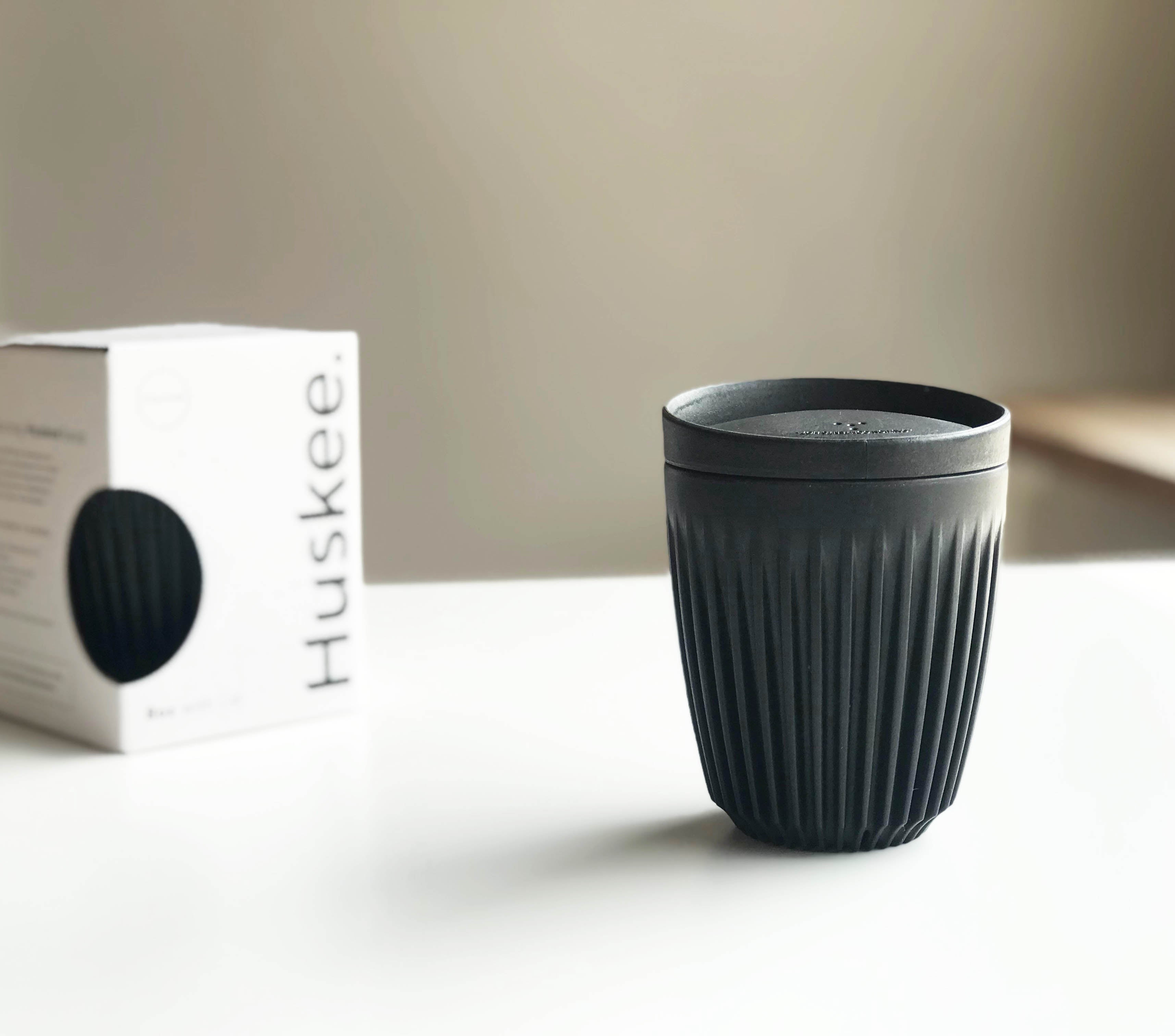 Sustainable HuskeeCup 8oz | Black