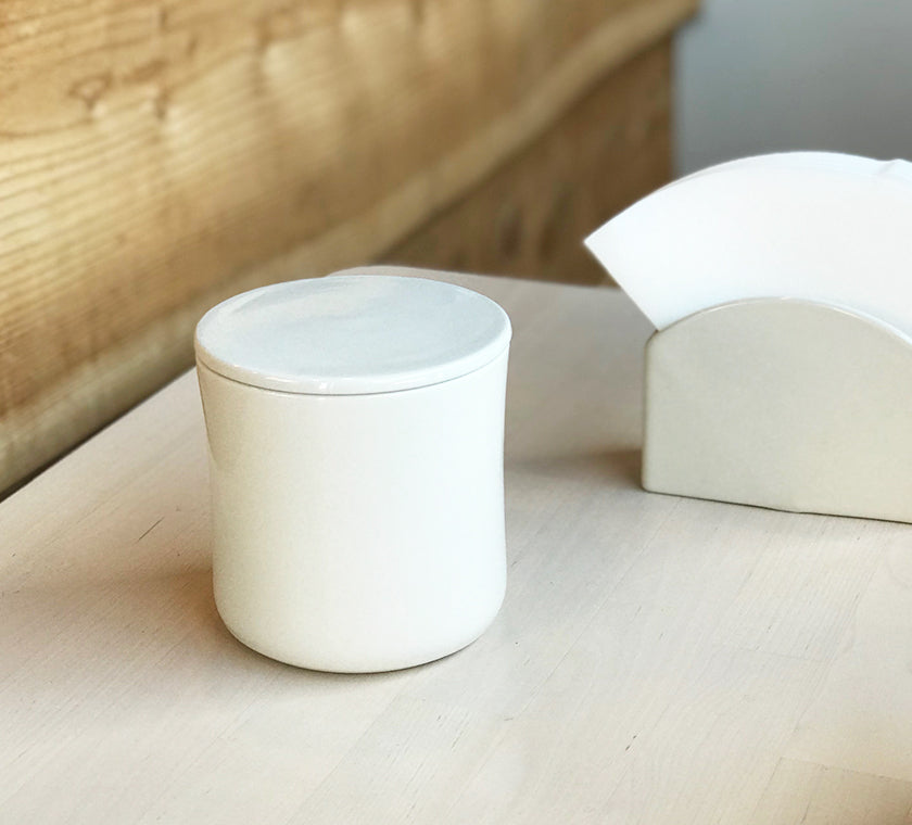 Kinto Porcelain coffee canister