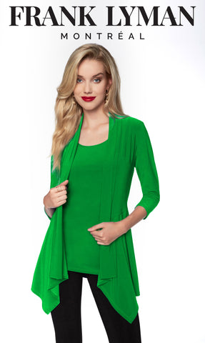 024 (Jacket) Green    Can be worn with matching camisole 030 (green)