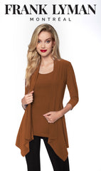 024 (Jacket) Terracotta-Rose  (Matching camisole 010 terracotta available)